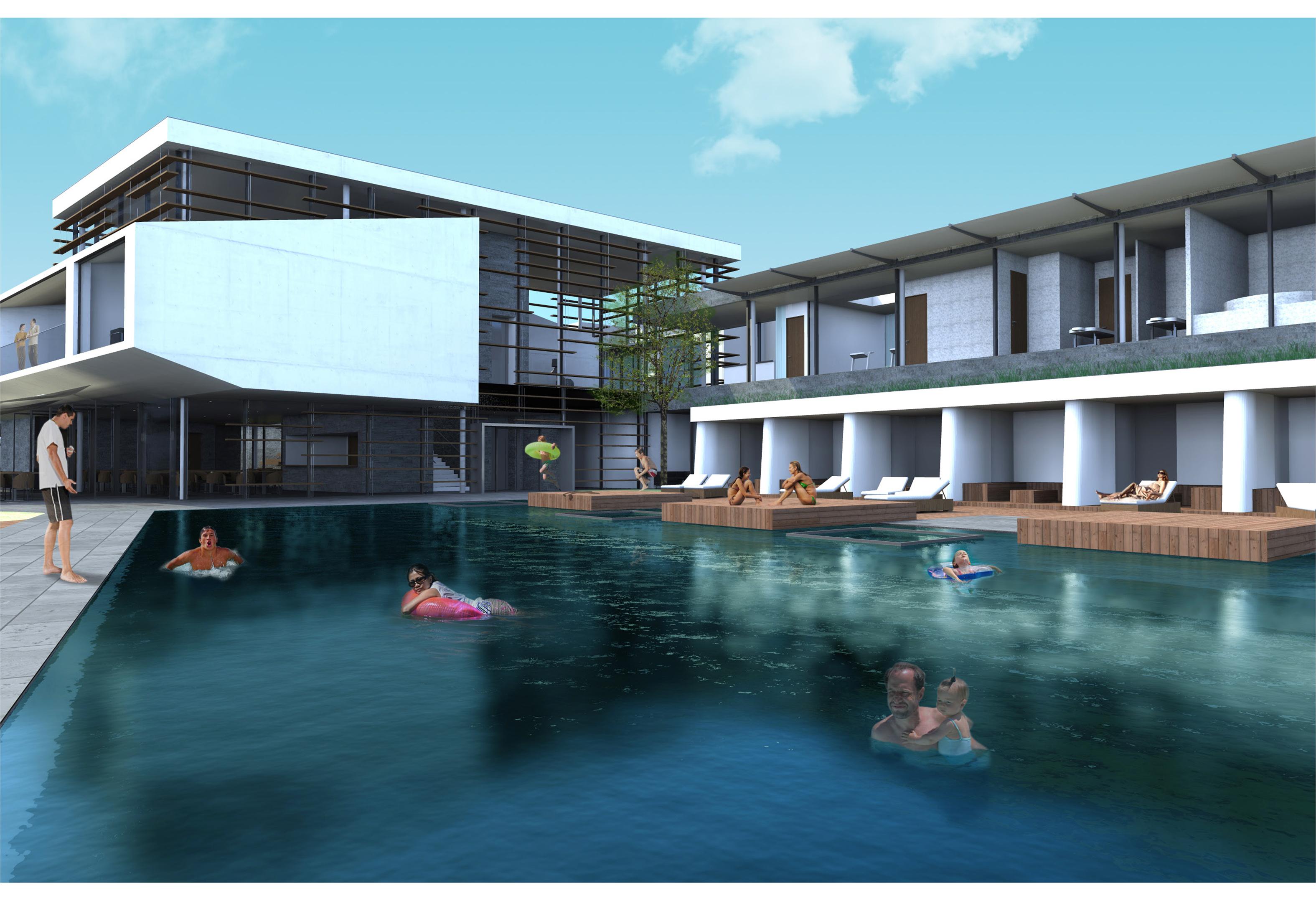 Piscine de foncillon royan 17 atelier d 39 architecture for Construction piscine royan