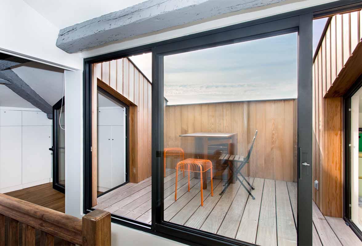 Creer Une Terrasse Tropezienne appartement pn01 - bordeaux (33) - atelier d'architecture à